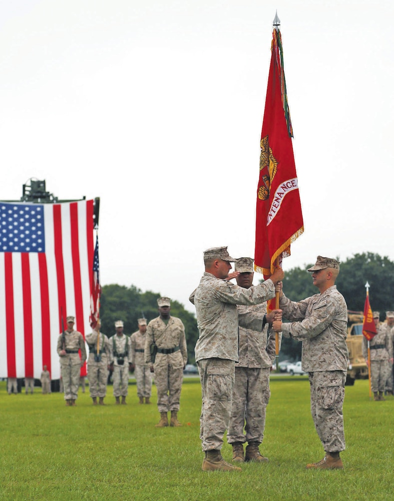 Marine Depot Maintenance Command changes hands