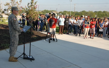 Warrior diplomats join students for 9/11 Remembrance Commemoration
