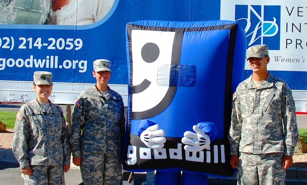 Goodwill Enterprises raises money for the Veteran Integration Program