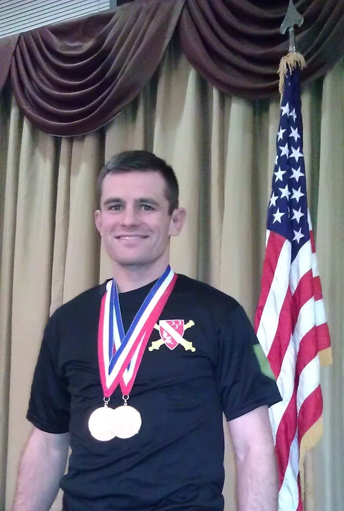 'Dagger' soldier selected to wrestle for his country