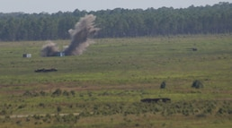 2nd ANGLICO demonstrates capabilities in bombing exercise
