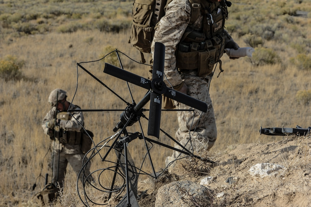 Marines strike enemy, kill insurgents, recover WMDs