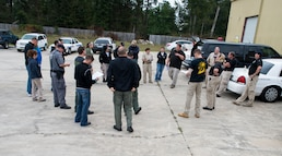 JB Charleston K-9 unit trains with federal agencies on explosives detection