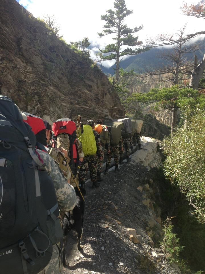 Northern Warfare Training Center instructor conquers mountains, builds relationship with Nepal