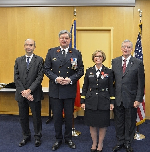 US Army Surgeon General receives French National Order of Legion of Honor