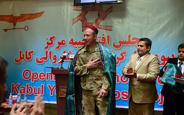 Kabul Youth Corps Ribbon Cutting