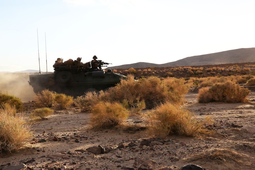 Marines spend week at Fort Irwin to maintain combat readiness