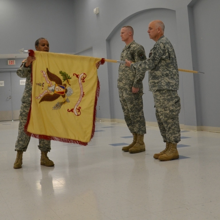Contracting battalion activated during historic ceremony