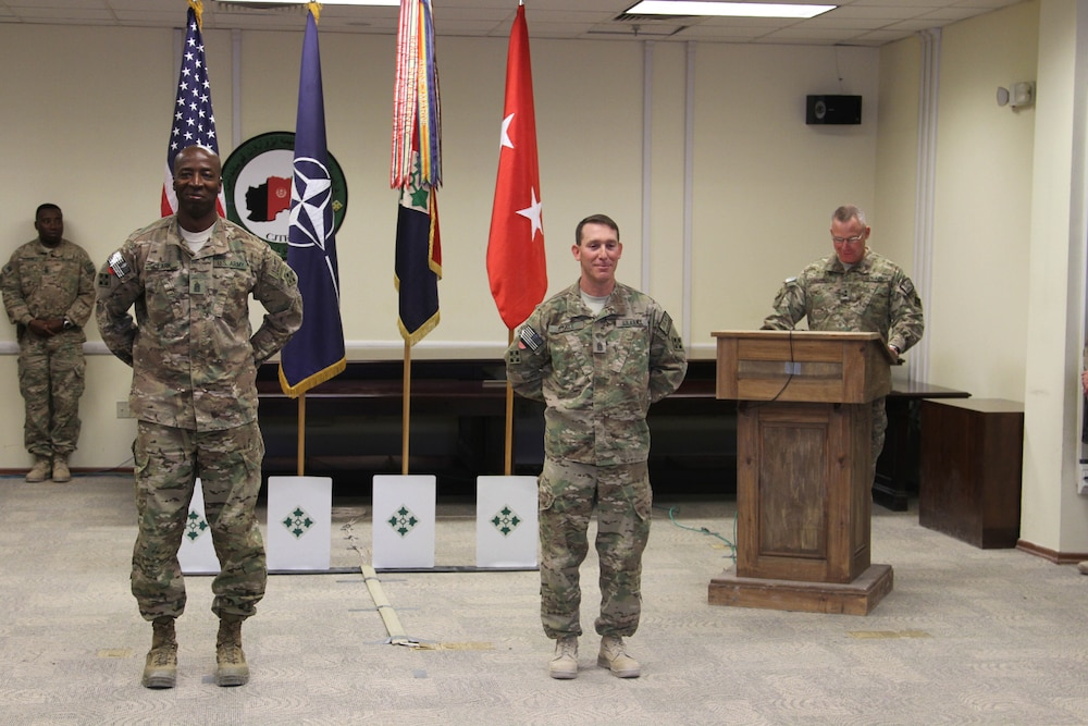 4th Infantry Division welcomes new command sergeant major