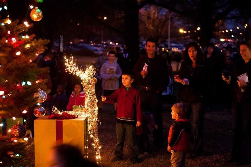 JBM-HH shines bright during annual tree lighting