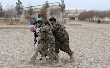 Kentucky National Guardsmen train Afghan soldiers
