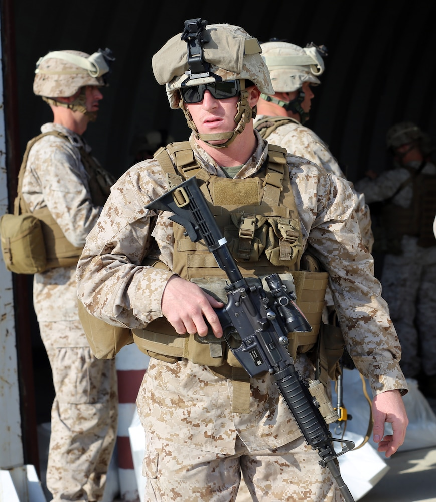 Marine of the Week contributes to mission success