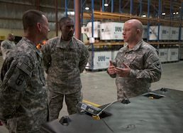 S.C. Adjutant General visits deployed troops