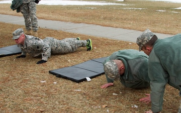 Best Warrior competitors pump out pushups