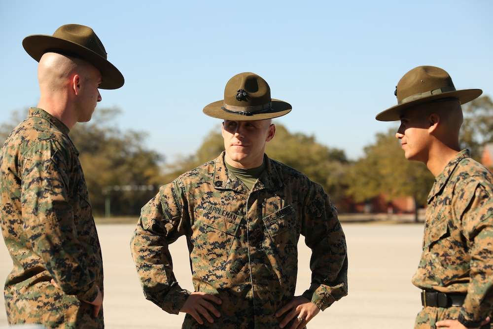 Brink, N.J., native named Parris Island's top Marine Corps drill instructor for 2013