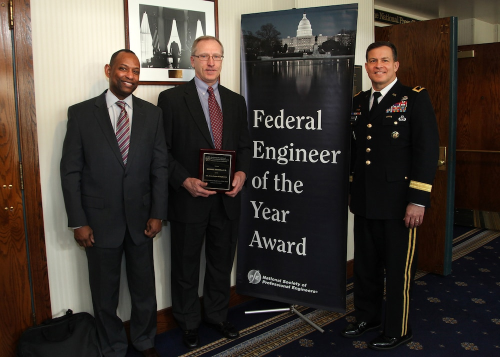 Zoccola recognized as finalist for Federal Engineer of the Year
