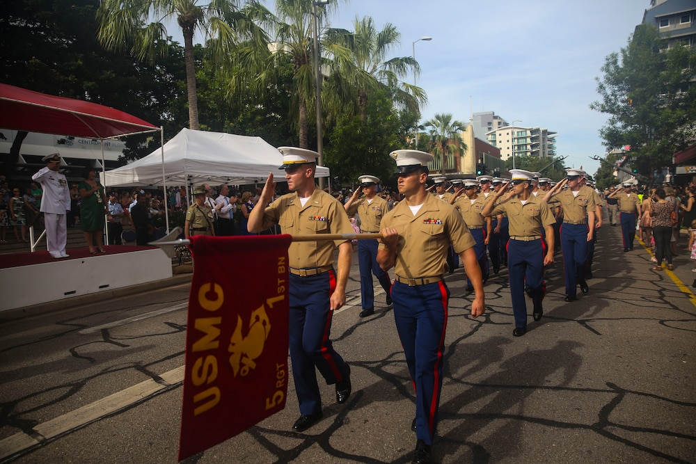 MRF-D celebrates ANZAC day in Darwin