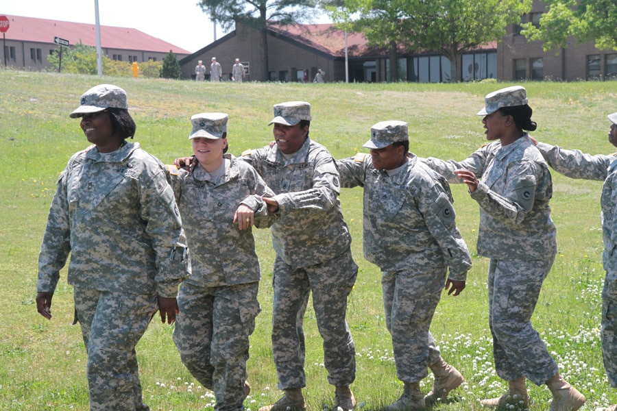 1st TSC Sisters in Arms builds trust through mentorship