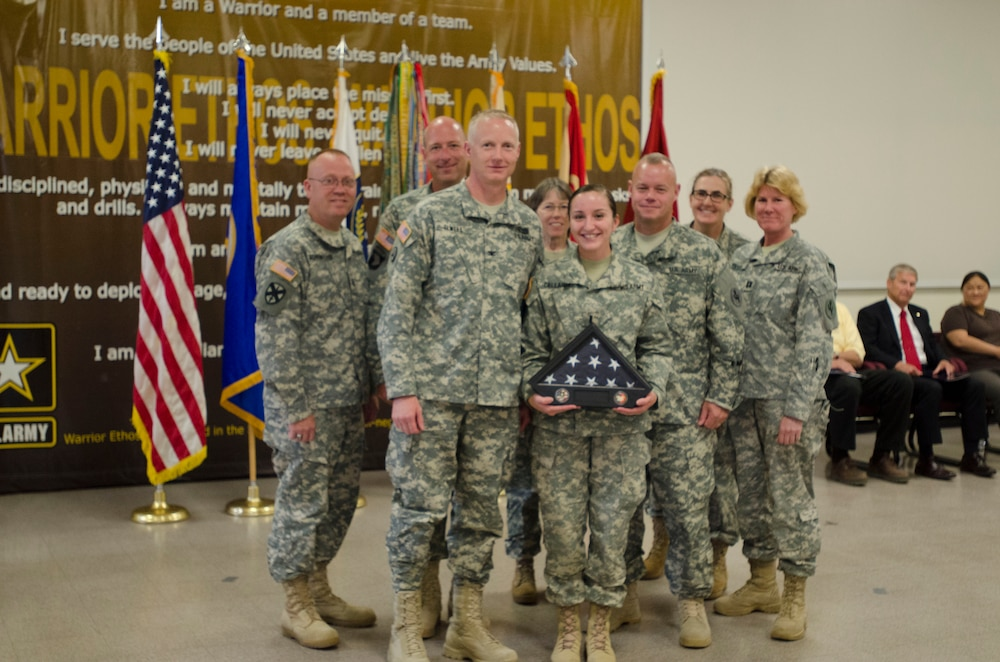 Welcome Home Warrior Ceremony honors soldiers from the 847th HR Company Postal Platoon
