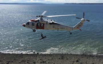 Whidbey SAR training