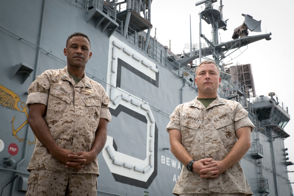 Marines share history with the USS Peleliu, before and after 9/11/2001