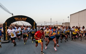 Army Ten-Miler shadow run held on Kandahar Airfield