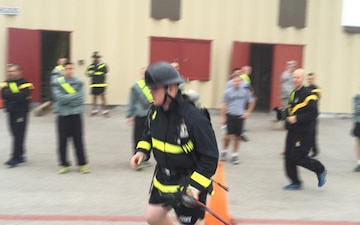 Soldiers compete in fitness competition