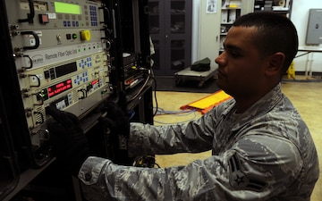 644th Combat Communications Squadron supports Silver Flag