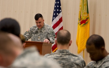 89th MP Bde Soldiers share fellowship, friendship, faith during prayer breakfast EMAIL   PRINT   SHARE