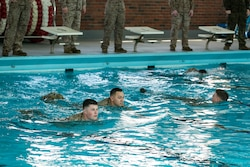 2nd Radio Battalion completes swim qualification [Image 1 of 4]