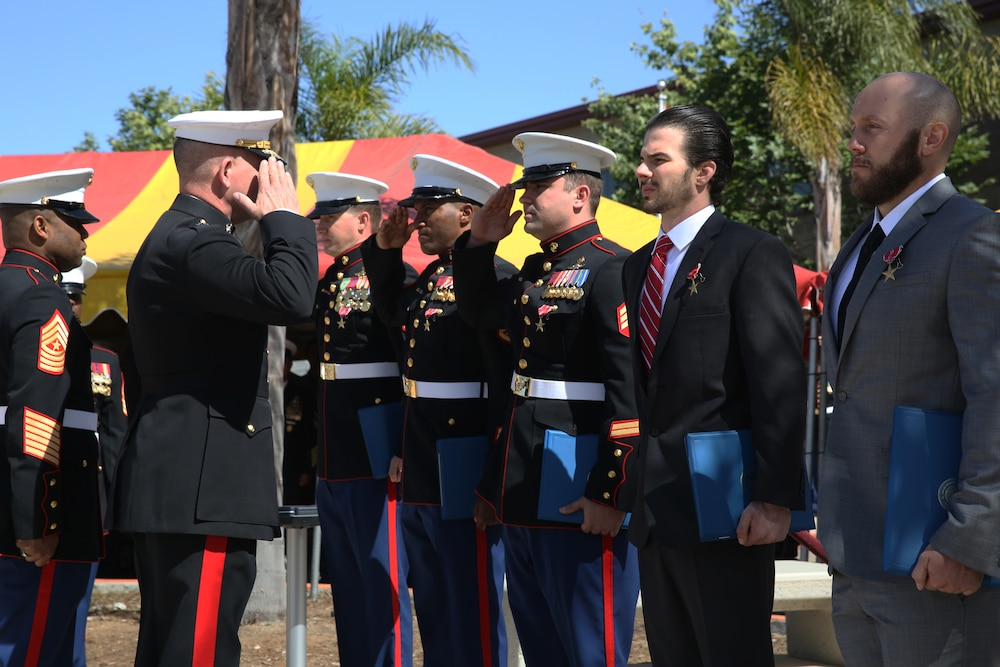 MARSOC Marines recognized for valor in combat