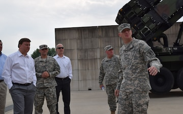 Congressmen visit Air Defense Unit in Korea