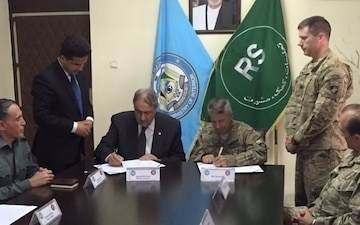 MoU signed expanding safe, accessible payments to Afghan Local Police
