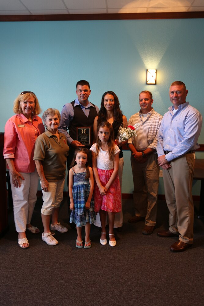 Marine family recognized for outstanding community service