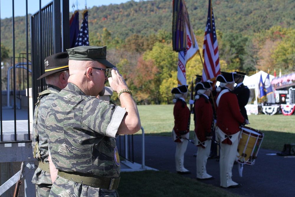Fourth annual March for the Fallen takes place at Fort Indiantown Gap