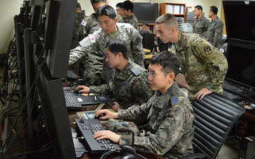ROK/US Patriot air defenders conduct combined exercise