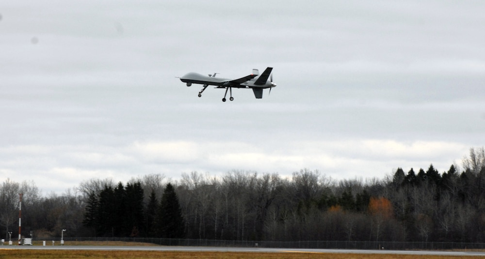 MQ-9 takes flight at Syracuse