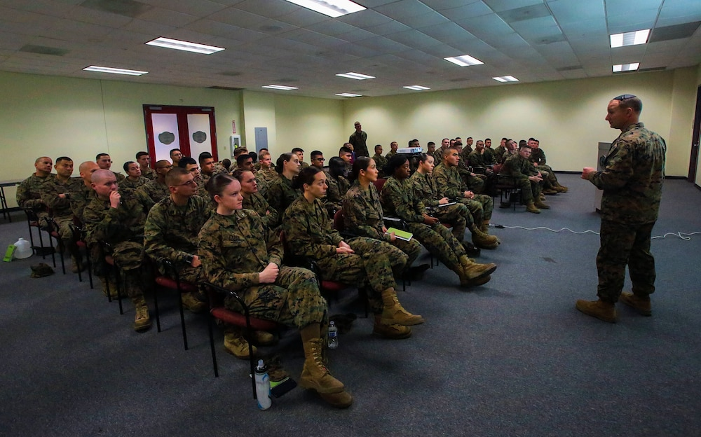 Love is a battlefield: Marines train to combat divorce