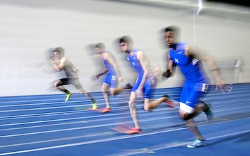 US Air Force Academy track meet: AF Team Challenge