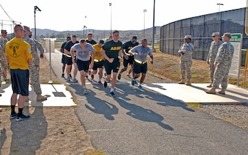 Vigilant Warriors compete in competition