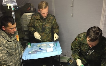 Viper Medics are Shocked during Operation Victory Medic