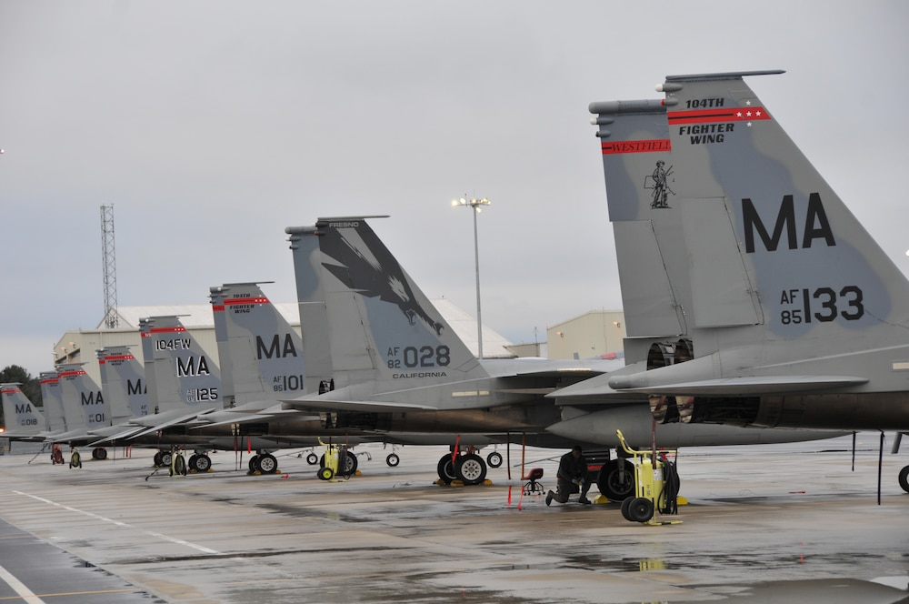104th Fighter Wing and 144th Fighter Wing To Deploy in Support of NATO Air Surveillance Mission