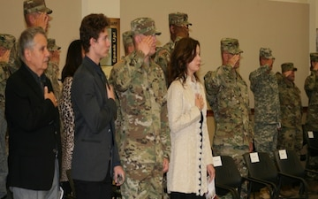 "95th Training Division (Initial Entry Training) ""Welcomes Home"" Its Newest Commander"