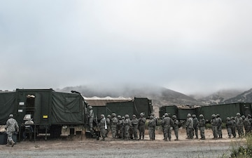224th Sustainment Brigade reaches full operational tempo in support of California Army National Guard's 2016 annual training