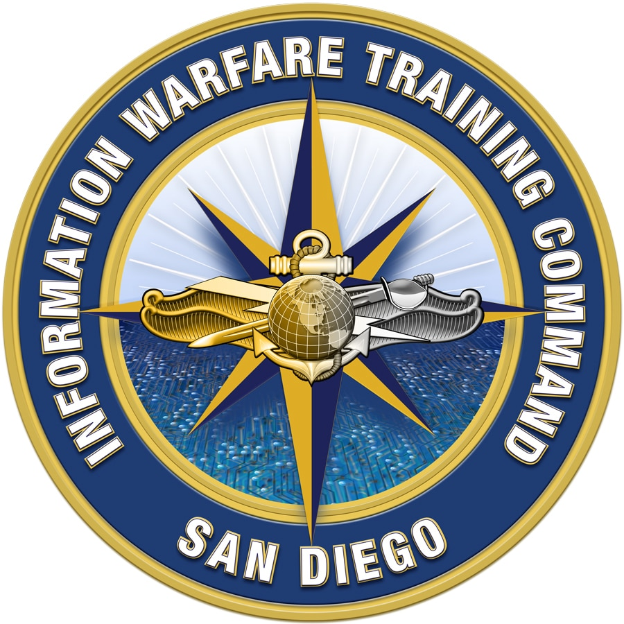 Logo for Information Warfare Training Command San Diego