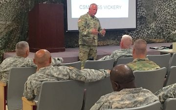 218th MEB hosts Command Sergeant Major Call