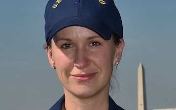 Coast Guard Chief Warrant Officer 3 Devlin supports the 58th Presidential Inauguration