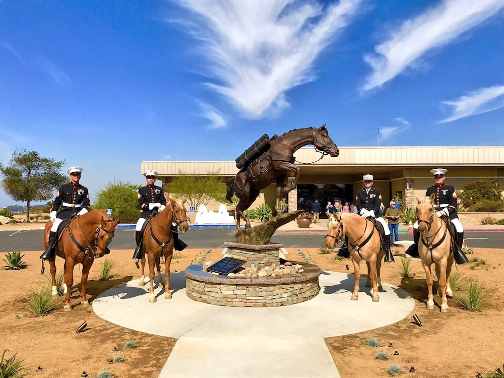 Staff Sergeant Reckless Monument Dedication Ceremony
