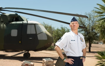 Veterans in Blue - Chief Master Sgt. Craig Bergman