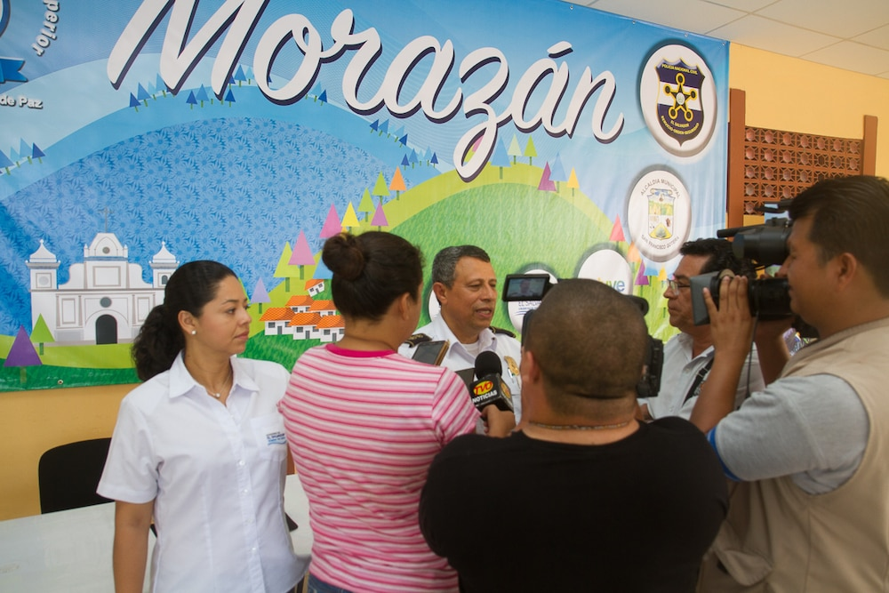 SOCSOUTH team amplifies information efforts in Central America